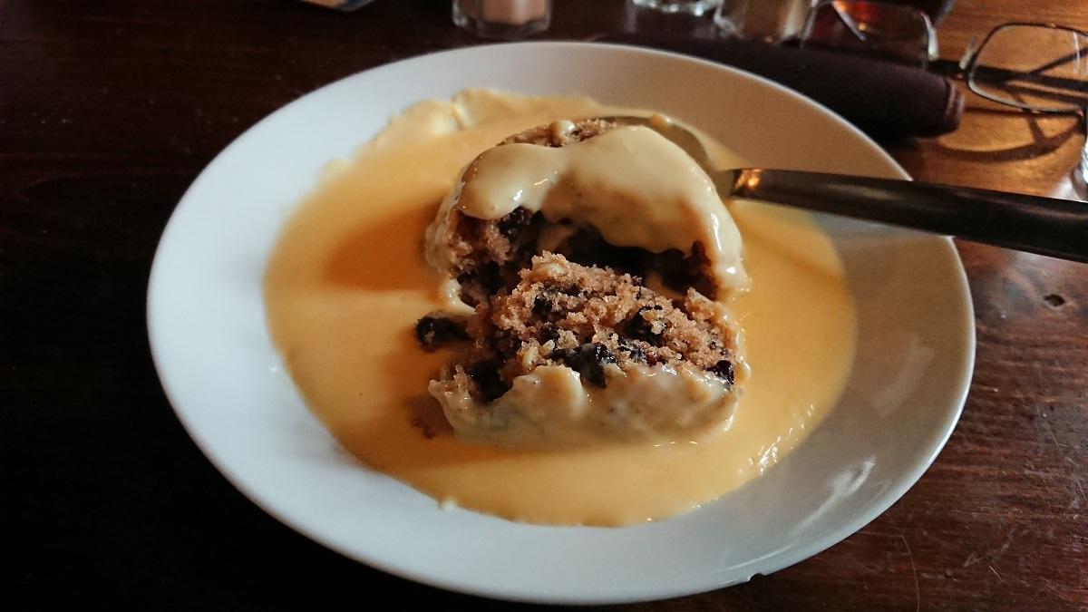 Traditional English puddings