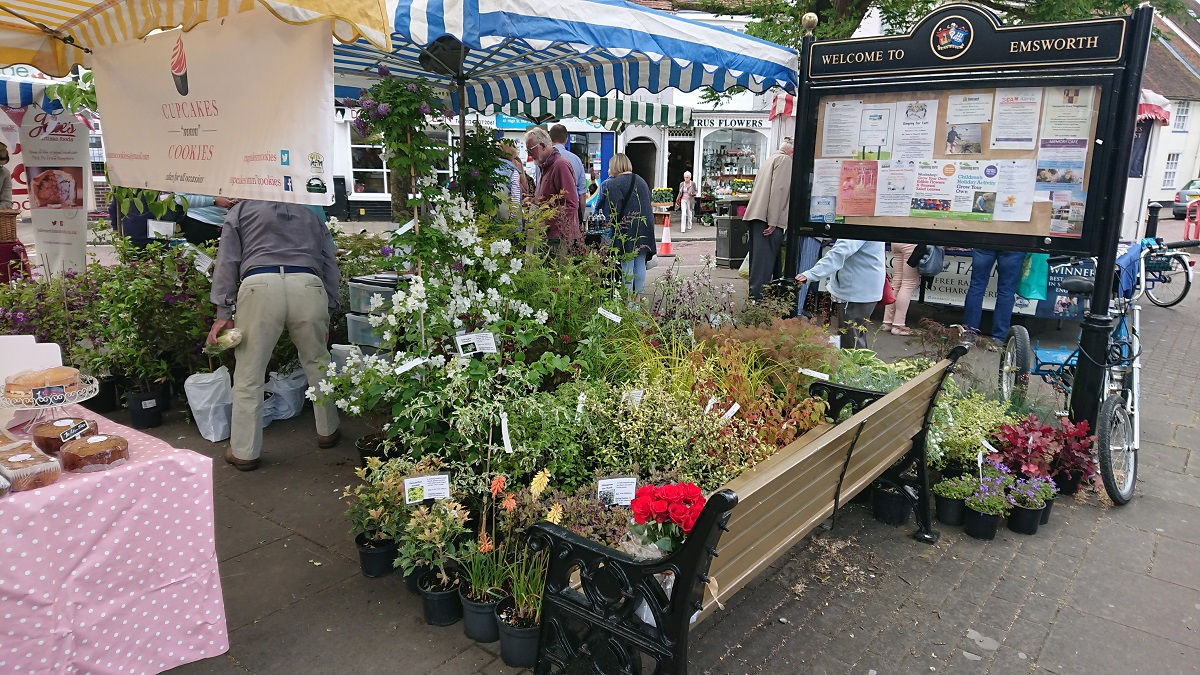 Farmers Market Emswoth Hampshire