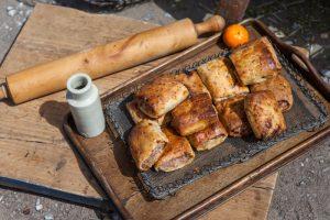 Homemade sausage rolls Weymouth Dorset on the South Coast
